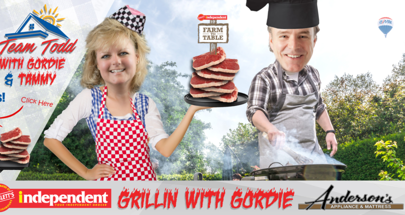 Grilling with Gordie and Tammy Contest has a WINNER!